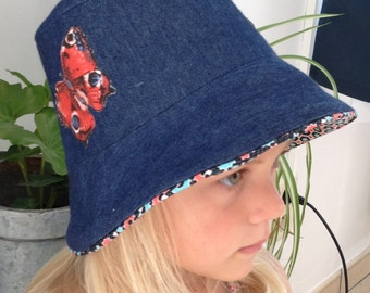 Hat girl size 48-50 cm