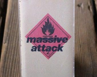 Massive Attack - Blue Lines Cassette (1991 Original US Release)