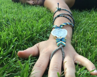 Multi purpose headband/slavebracelet/anklet!