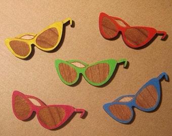 Cat Eye Sunglasses Brooch