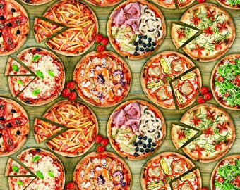 Oilcloth table cloth by the metre pizza C147220