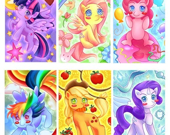 My Little Pony: Friendship Is Magic Portraits