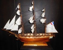 L'Astrolabe - Premium Boat Models - Very High Quality - Handmade by Comajora in Mauritius