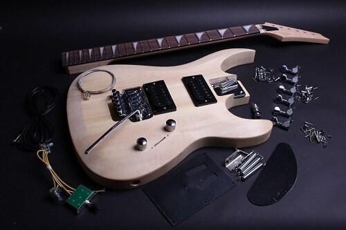 build your own electric guitar kit js style. Black Bedroom Furniture Sets. Home Design Ideas