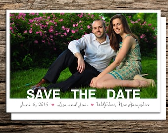 Custom Save the Date Postcard
