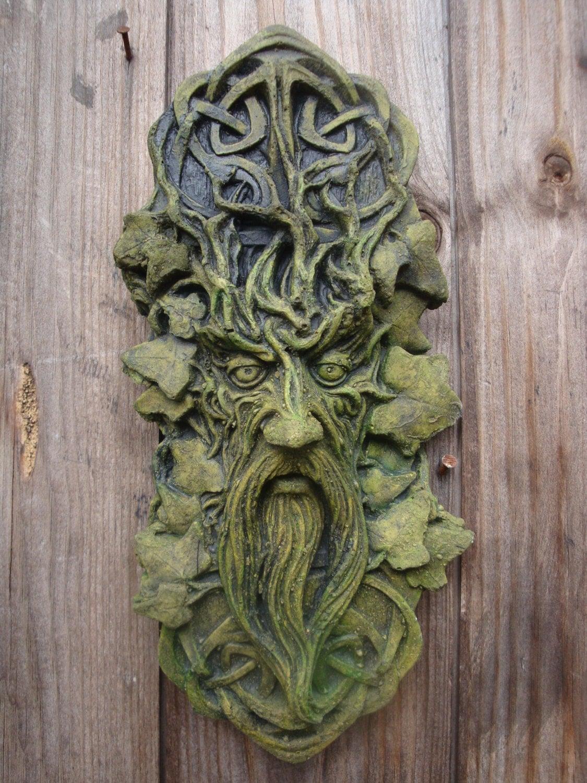 Garden wall plaque -  Zoom
