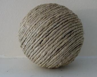 Decorative twine ball