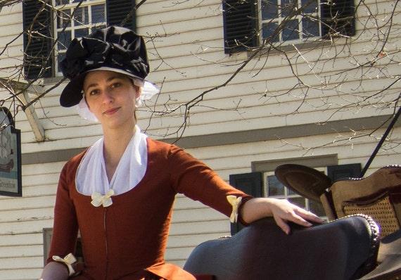 18th Century Bonnet ePattern Instant Download