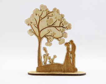 Wedding Favors, cadeaux gravés, cadeaux de mariage, cadeaux de mariage personnalisés, cadeaux de mariage pour invités, idées de cadeaux de mariage, arbre en bois, en bois