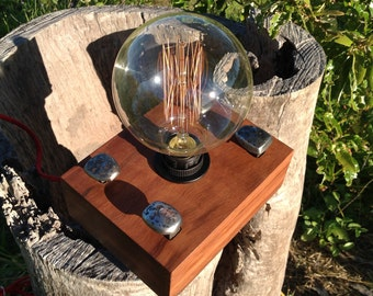 Lamp Edison style Railway sleeper lighting 4 pin
