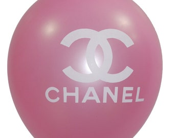 10 CC Balloons Pink