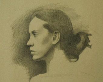 Portrait on Manilla