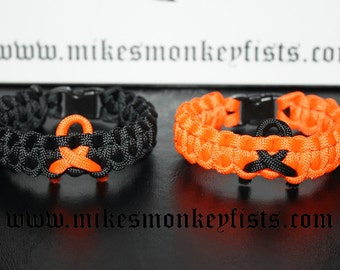 Christian Support Bracelet - Paracord Support Bracelet - Support Bracelet