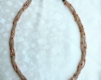 item 101 - handmade bead necklace