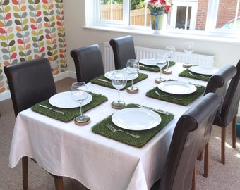Grass Placemats Set (4 or 6)