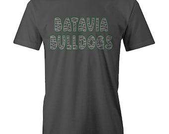 Batavia Bulldog Zebra t-shirt design Funny Meme