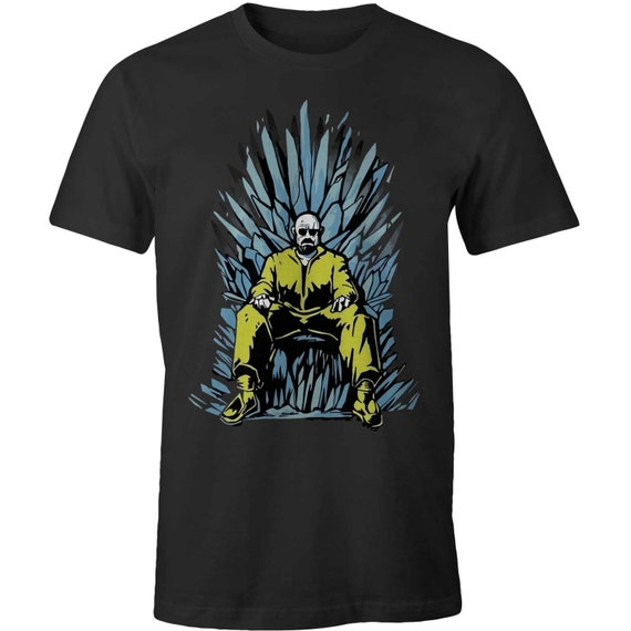 Breaking bad heisenberg iron throne t shirts game of thrones for Throne of games shirt