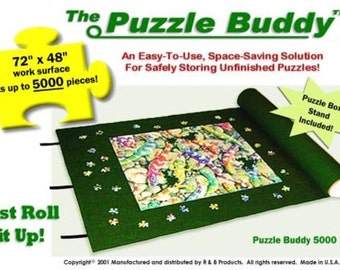 "Jigsaw Puzzle Roll Up Storage Mat Puzzle Board Alternative Size: 72"" x 48"" NEW!"