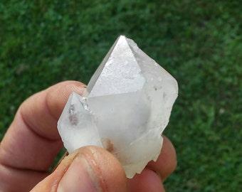 100%Quartz crystal. Uncut 43grams
