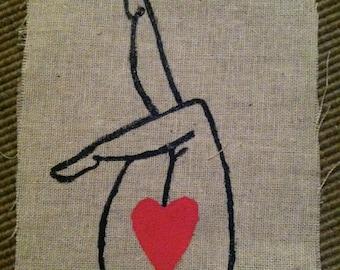 Heart Vagina Patch