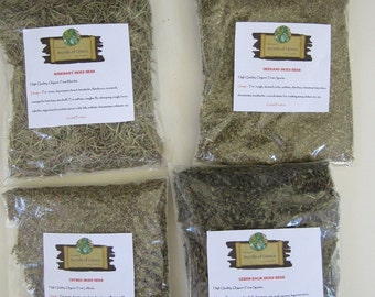 High quality Greek Natural Aromatic Dried Herbs Rosemary,Thymes,Lemon Balm & Oregano.