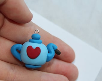 Teapot Polymer Clay Charm