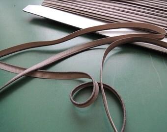 Piping | Beige Lurex | 7 mm | 1/4 inch