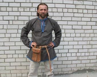Slavic man's suit