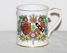 Spode Charles & Diana Limited Edition numbered Royal Wedding 1981 mug RARE