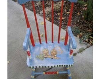 Cowboy Rocking Chair