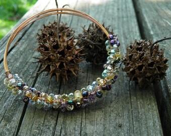 Labarthe Beaded Copper Bracelet