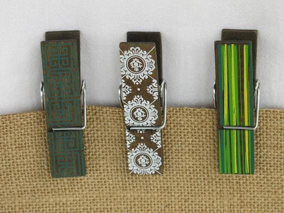 Decorative Magnetic Clothespins Refrigerator Magnet Locker