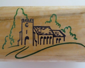Personal Impressions 'Church' rubber stamp