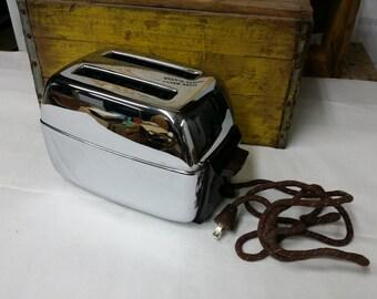 SALE! Vintage 1950's Chrome Camfield Toaster