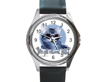 Its All About Me Round Metal funny Watch