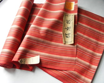 Vintage Kimono Silk Fabric, Japanese Fabric, Japan Kyoto, Nishijin 3
