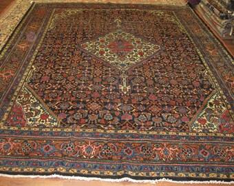 Vintage Persian Malayer / Hamadan rug-3667