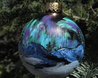 Northern Lights ornament