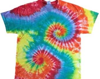 Twin Spiral Tie Dye T-shirt