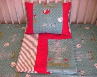 Prayer 4 piece Crib Bedding Set