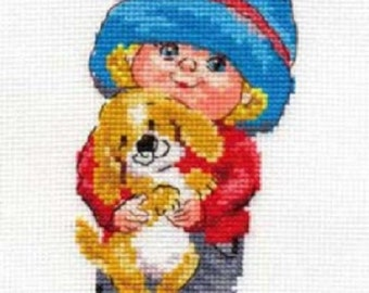 Cross Stitch Kit by Alisa - Sasha
