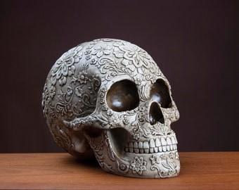 Decorative Floral Skull