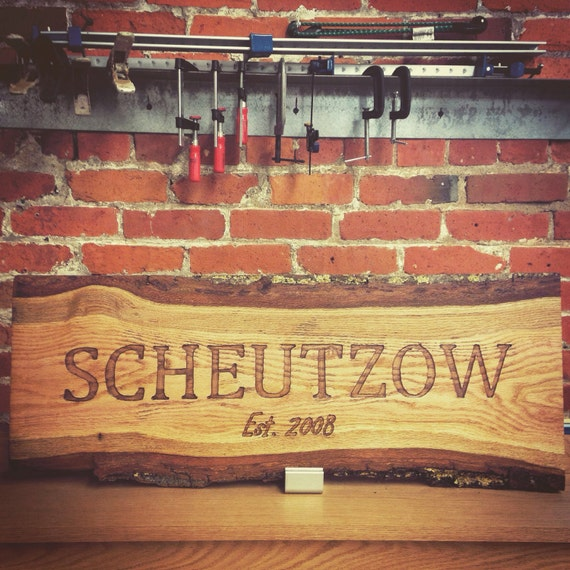 Custom Engraved Name Plaques