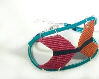 Native American inspired bracelet/anklet/arm band