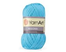 Mercerized cotton yarn BEGONIA set of 5 skeins  100% mercerized cotton by YARNART / Yarn knitting crochet  50g 169m