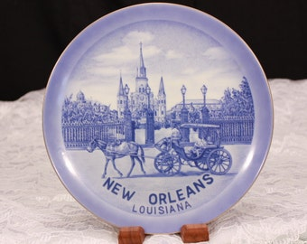 New Orleans Louisiana Vintage Hanging Plate