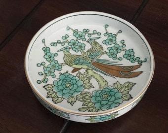 Gold Imari hand painted small dish