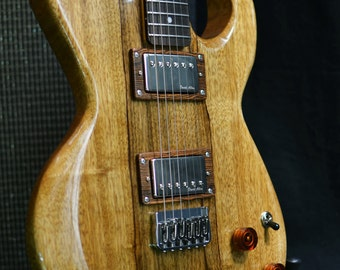 The Woodsman Custom Electric Guitar