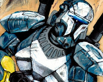 Star Wars Republic Commando Print
