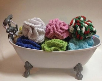 Luxurious Crochet Bath Loofah